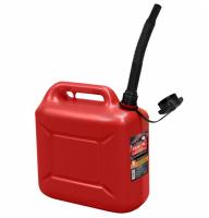 Канистра для топлива с крышкой и лейкой 10л, Rezer REZOIL