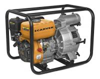 Мотопомпа для грязной воды CARVER CGP 5580 D